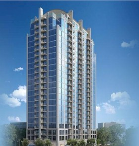 skyhouse midtown atlanta high rise apartments for rent or